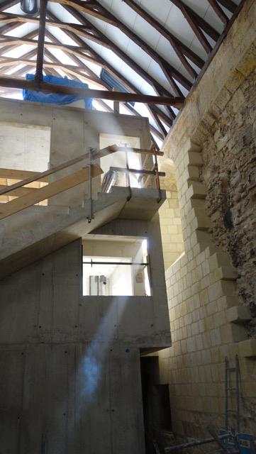 Historique du chantier saint libert soci t for Doublage mur interieur